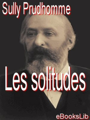 cover image of Les solitudes