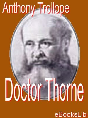 cover image of Doctor Thorne