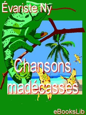 cover image of Chansons madécasses