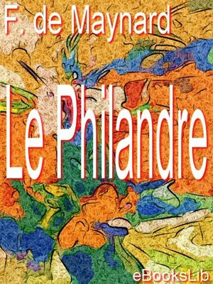 cover image of Le Philandre