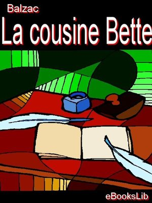 cover image of La cousine Bette