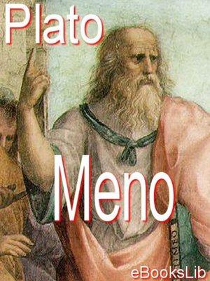 cover image of Meno