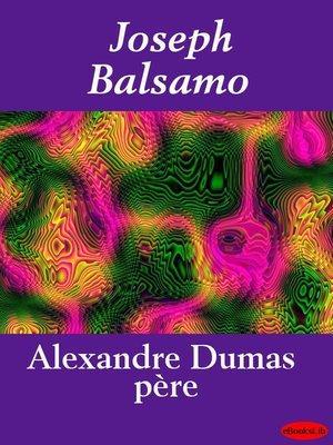 cover image of Joseph Balsamo