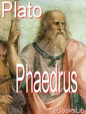 cover image of Phaedrus