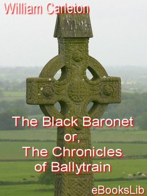 cover image of The Black Baronet