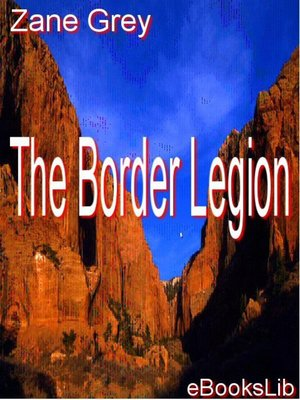 cover image of The Border Legion
