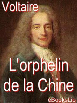 cover image of L'orphelin de la Chine