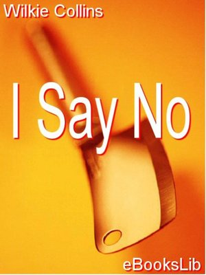 cover image of I Say No