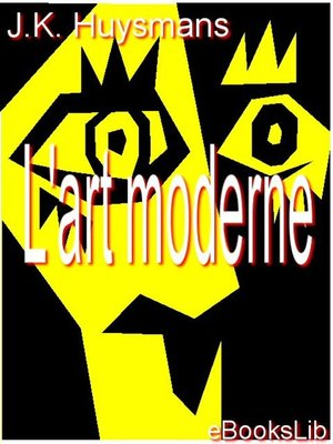cover image of L'art moderne