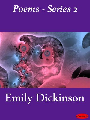 cover image of Poems, Series 2