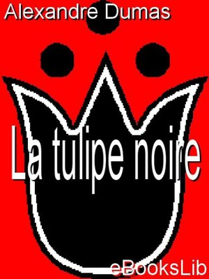 cover image of La tulipe noire