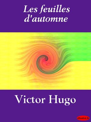 cover image of Les feuilles d'automne