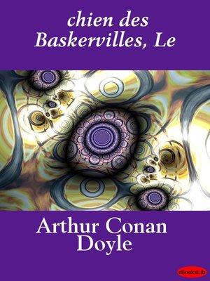 cover image of Le chien des Baskervilles