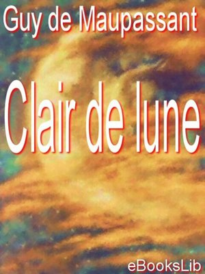 cover image of Clair de lune