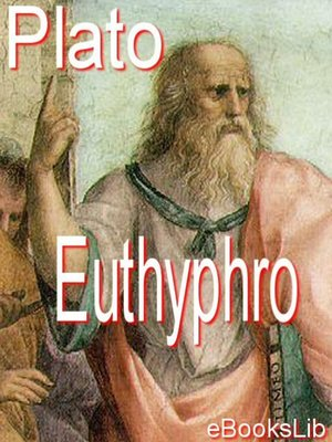 cover image of Euthyphro