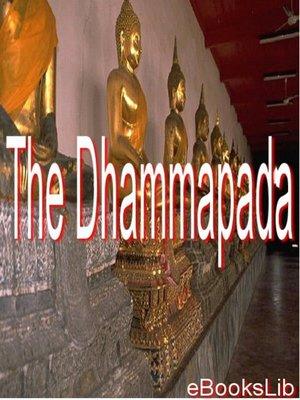 cover image of The Dhammapada