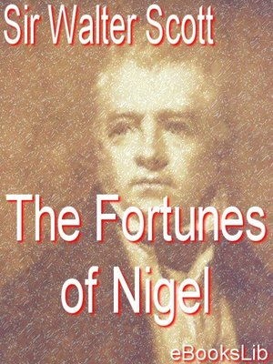cover image of The Fortunes of Nigel