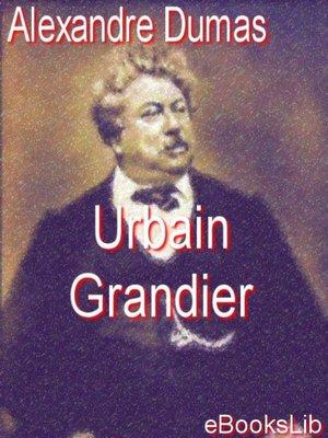 cover image of Urbain Grandier