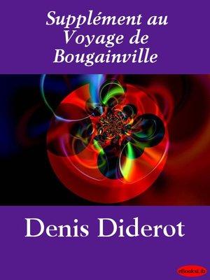 cover image of Supplément au Voyage de Bougainville