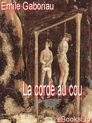 cover image of La corde au cou