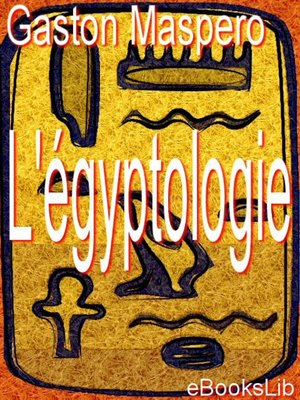 cover image of L'égyptologie