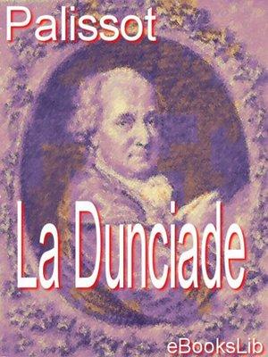 cover image of La Dunciade