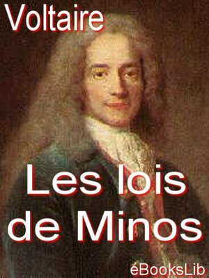 cover image of Les lois de Minos