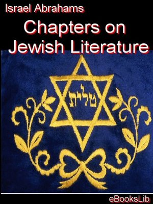 cover image of Chapters on Jewish Literature