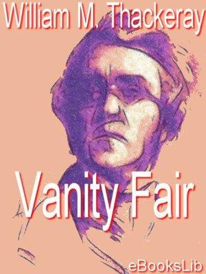 cover image of Vanity Fair