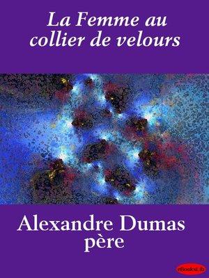 cover image of La Femme au collier de velours