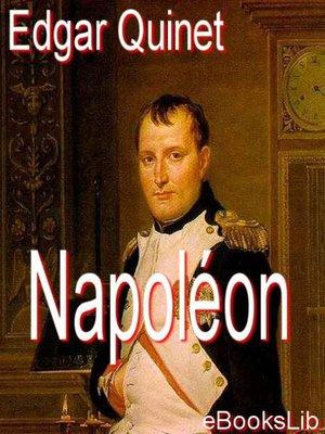 cover image of Napoléon