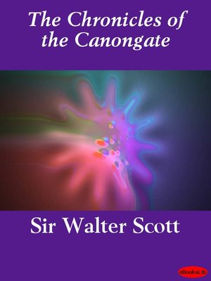 cover image of The Chronicles of the Canongate