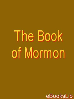 cover image of The Book of Mormon