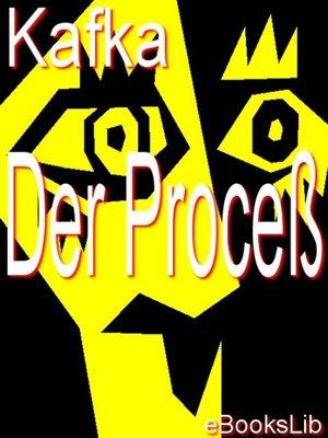 cover image of Der Proceß