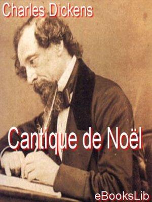 cover image of Cantique de Noël