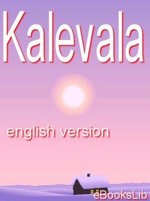 cover image of Kalevala
