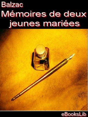 cover image of Mémoires de deux jeunes mariées
