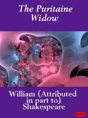cover image of The Puritaine Widow