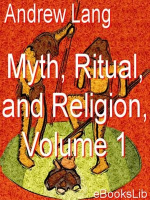 cover image of Myth, Ritual, and Religion, Vol 1