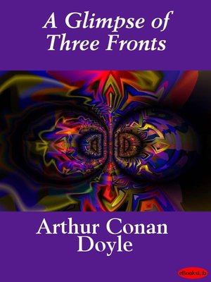 cover image of A Glimpse of Three Fronts
