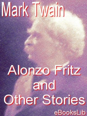 cover image of Alonzo Fritz and Other Stories