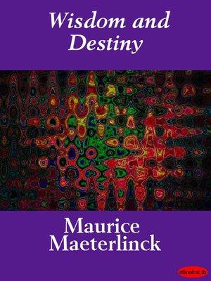 cover image of Wisdom and Destiny