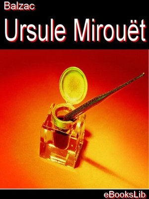 cover image of Ursule Mirouët