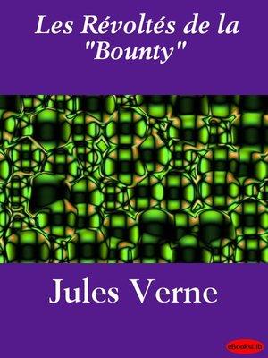 """cover image of Les Révoltés de la """"Bounty"""""""