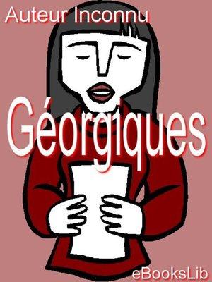 cover image of Géorgiques