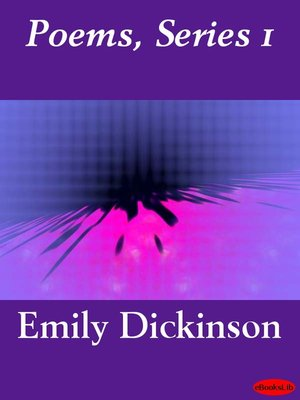 cover image of Poems, Series 1
