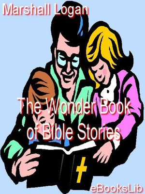 cover image of The Wonder Book of Bible Stories