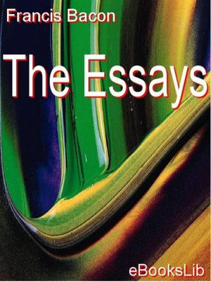 cover image of The Essays