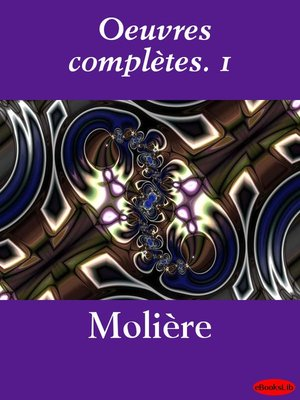cover image of Oeuvres complètes. 1