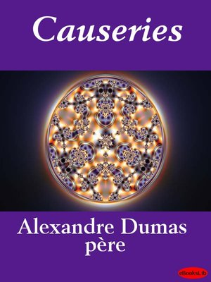 cover image of Causeries